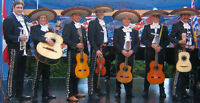 Roaming authentic Mexican Mariachi band: Solo to 5-piece!