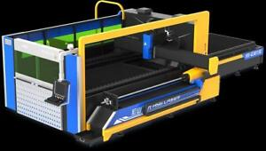 Découpeuse Laser Fibre Combinée HSG – pour tôles, plaques et tubes d'acier, inox et aluminium