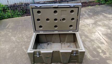 Plastic fishing storage box or esky type trunk