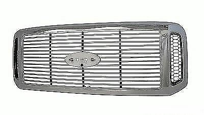 for 2005 2006 2007 Ford Pickup_Super duty Front Grille XLT/Lariat Model Chrome - Ford Pickup Lariat