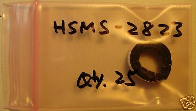Avago Rf Mixerdetector Diode Hsms-2823 Sot-23 25pcs