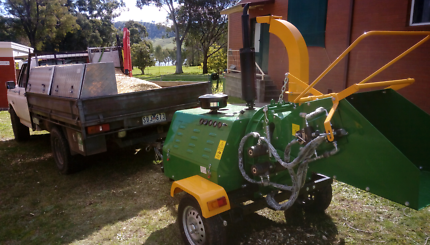 8 Inch, 50HP,  4 cylinder Diesel wood chipper only 70 hours
