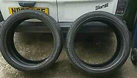 275 40 22 tyres continental. 3+ 2 available for both