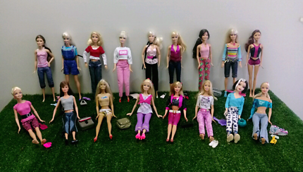 Barbies in Jeans and Shorts
