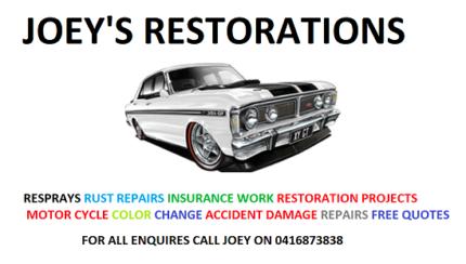 JOEY'S RESTORATIONS
