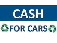 CASH FOR YOUR CARS - VANS - SCRAP MY CAR - MOT FAIL SPARES OR REPAIRS NON RUNNER