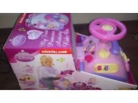 12-36 months Disney princess musical ride-on toy