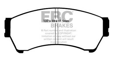 EBC Ultimax Front Brake Pads for Mazda 6 1.8 (GH) (120 BHP) (2007 > 13)