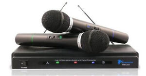 Pro Dual Signal Handheld Microphone System