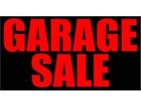 GARAGE SALE of household and collector's items including automobilia for sale after the lockdown.