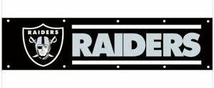 Raiders NFL Banner for that She Shed or Man Cave