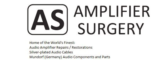 AUDIO AMPLIFIER SURGERY AND PARTS