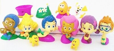 BUBBLE GUPPIES Figure Play Set NICKELODEON PVC TOY Birthday Party Favors PUPPY!