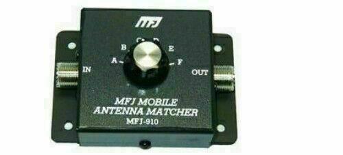 MFJ-910  MOBILE ANTENNA  MATCHER Tuner, CAPACITVE, 200 WATTS, 10-80 M.  NEW