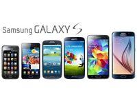 Samsung Galaxy S SERIES smartphones S2/S3/S4/S5 (MINIs) Unlocked Sim-Free