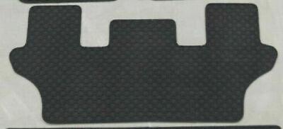 Lengenfelder Gummimatte für Mercedes R-Klasse W251 3.Sitzreihe SCHWARZ Gummi NEU