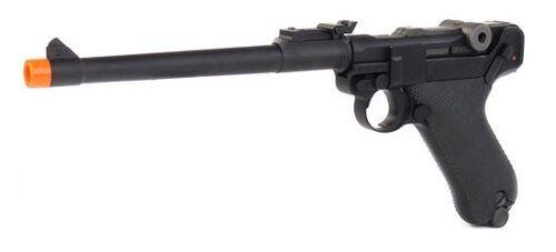 WE P-08 Blowback Gas Full Metal Airsoft Gun