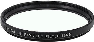 Bower 58mm UV Filter Ultra Violet 58 mm Multi-Purpose Glass Filter