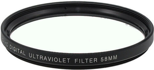 Bower 58mm UV Ultra Violet 58 mm Filter for Canon, Nikon, Sigma Lens