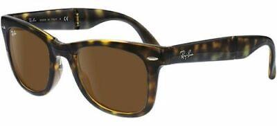 Ray Ban 4105 50 Wayfarer Plegable 710 Havana Plegable Sunglasses Gafas de...