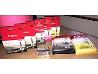 Genuine Canon ink cartridges for Pixma printers. Big savings.