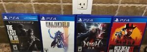 Red Dead Redemption and other PS4 games