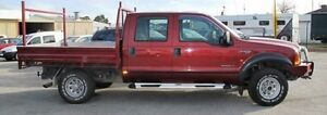 2005 Ford F250 RN XLT Red 4 Speed Automatic Utility Bellevue Swan Area Preview