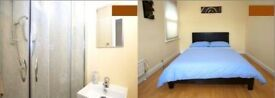 Large double room available with private bathroom