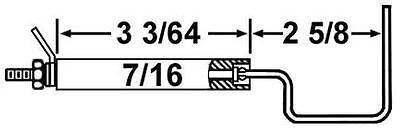 Crown 28045 Replacement Flame Sensor For Wayne Hsg Ehg Gas Burners