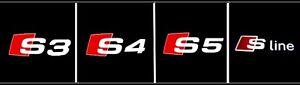 LED progecteur Logo AUDI A3 A4 A5 SLINE S3 S4 S5 (40$ pour 2pcs)