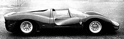 1967 Ferrari 330 P3 Factory Photo ua4989-TMARZZ