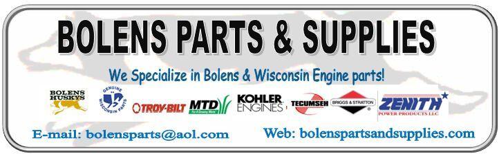 Bolens Parts And Supplies
