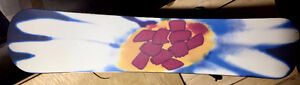 Snowboard for women with Vision bindings West Island Greater Montréal image 2