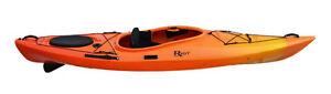 Riot Edge 11 touring kayaks with skeg