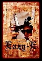 NWA -  Eazy E Hole in the Wall Flag Poster Rock Posters