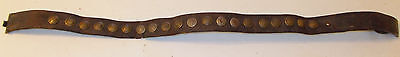 WWI German Army Hate Belt 20 Imperial German Buttons