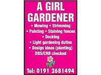 ALISON The Girl Gardener Est 2015 Business insured and CRB checked