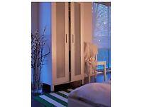 Ikea bedroom Wardrobe £35 original price £65 Oak colour