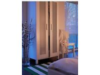 We are moving this week, Ikea bedroom Wardrobe £35 original price £65 Oak colour