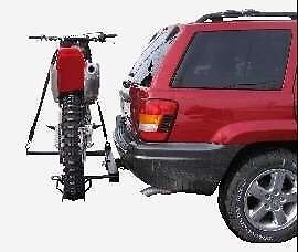 Motorcycle stand rack