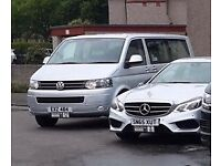 Volkswagen Transporter Shuttle Exclusive Private Hire taxi uber