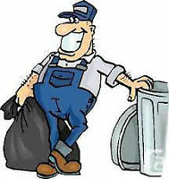 Junk and Garbage removal / clean out buildings bulk pick ups