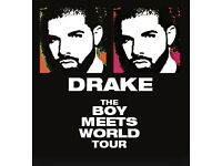 Drake Tickets for Sale Great prices London Birmingham Sheffield
