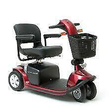 new never been use pride victory 10 twin electric scooter red color 4 wheels call T. 647-781-8987