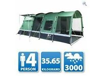 CORADO 4 TENT AND ACCESSORIES
