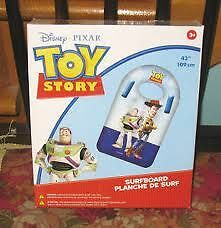 Never Used - Toy Story Surfboard (inflatable)