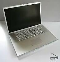 Macbook pro17 inch 2.6Ghz ,500gb HHD+CS6 Master colletions  Mac