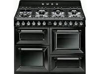 Brand new 110cm smeg dual fuel range cooker