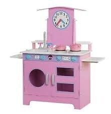 Plum Padstow Wooden Role Play Kitchen with Accessories.