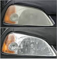 Mobile headlight cleaning